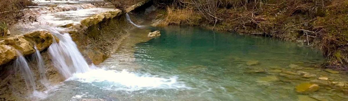 Immagine delle sorgenti dell'Alpe della Luna a Badia Tedalda