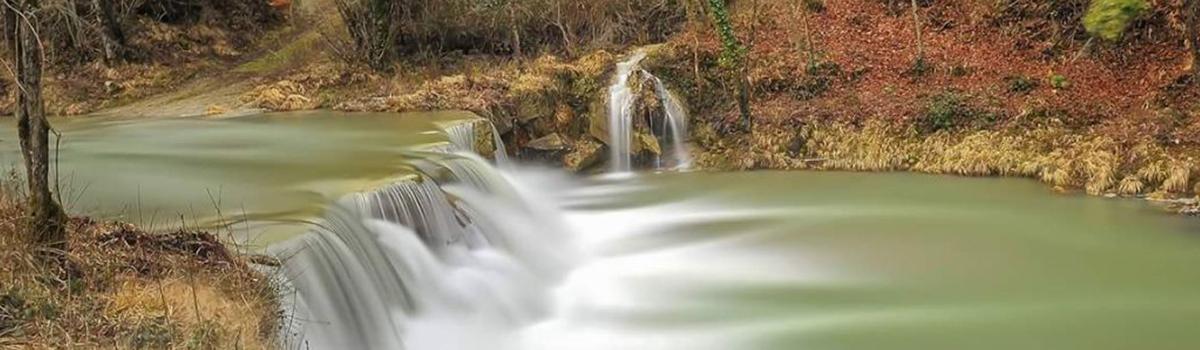 Immagine della piscina naturale di Borgo Pace