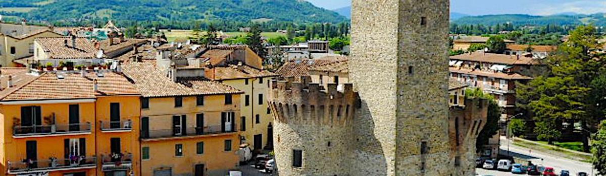 Immagine della Rocca della Collegiata di Umbertide
