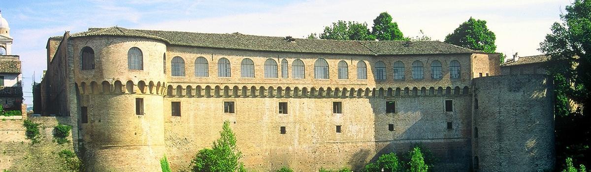 Immagine del palazzo ducale di Urbania