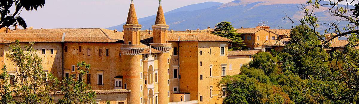 Immagine del Palazzo Ducale di Urbino