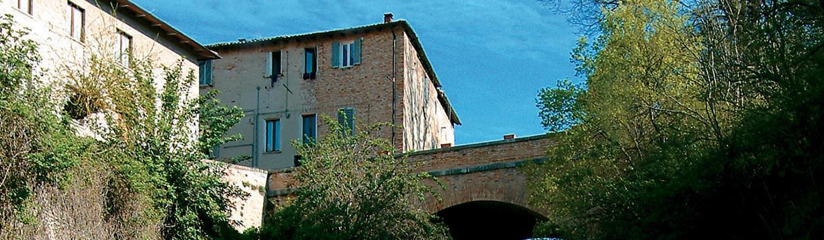 Immagine del Ponte dei Cocci di Urbania