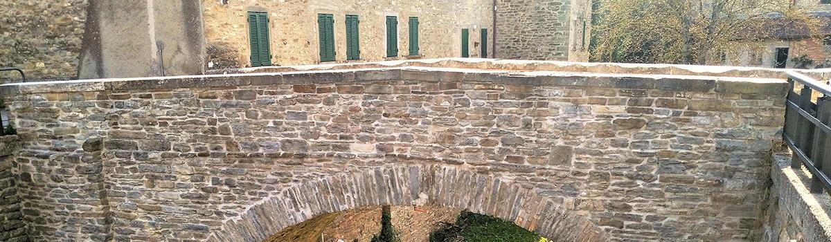 Immagine del Ponte Lamoli a Borgo Pace
