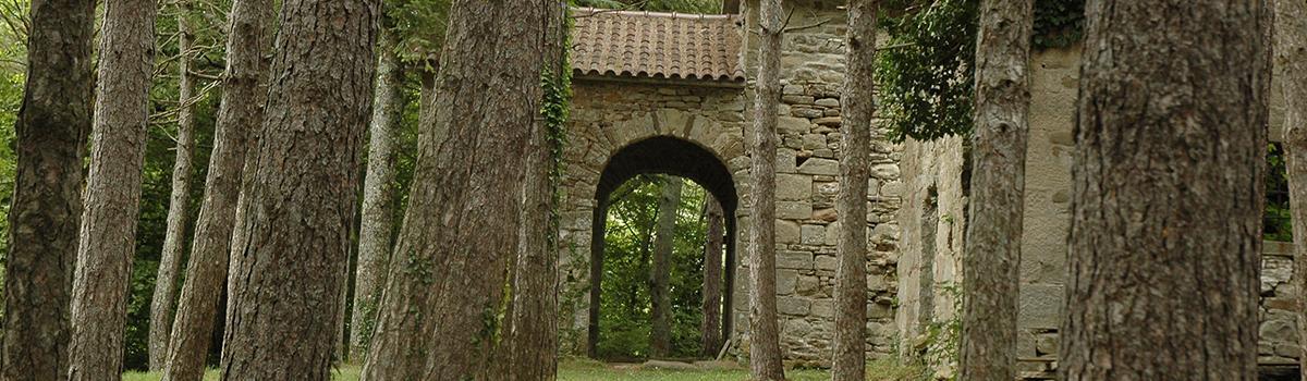 Immagine del santuario francescano della Madonna del Presalino a Badia Tedalda
