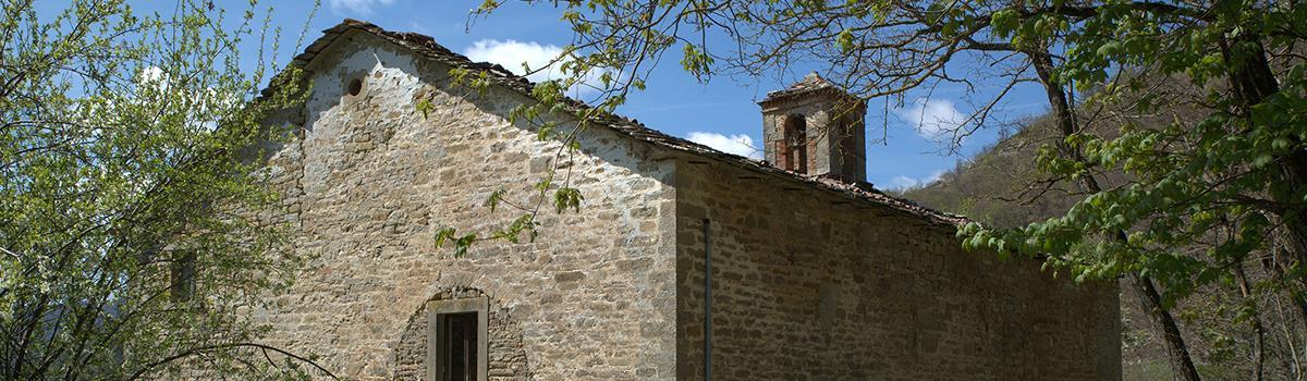 Immagine dell'itinerario francesco nei pressi di Badia Tedalda a Montelabreve