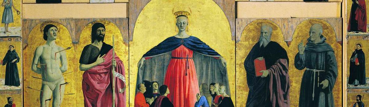 Immagine del Polittico della Misericordia di Piero della Francesca
