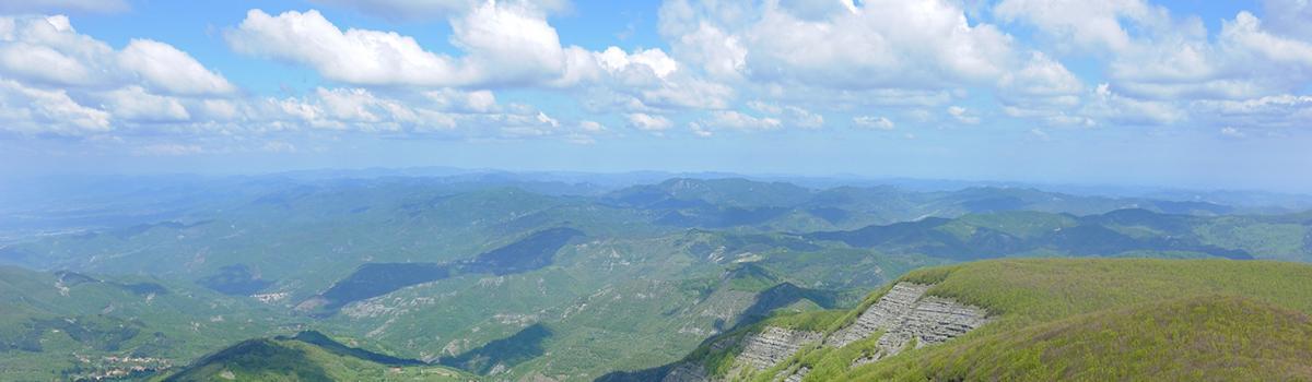 Immagine di escursionisti nel Parco Nazionale delle Foreste Casentinesi