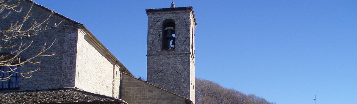 Immagine del Santuario della Verna in Alta Val Tiberina