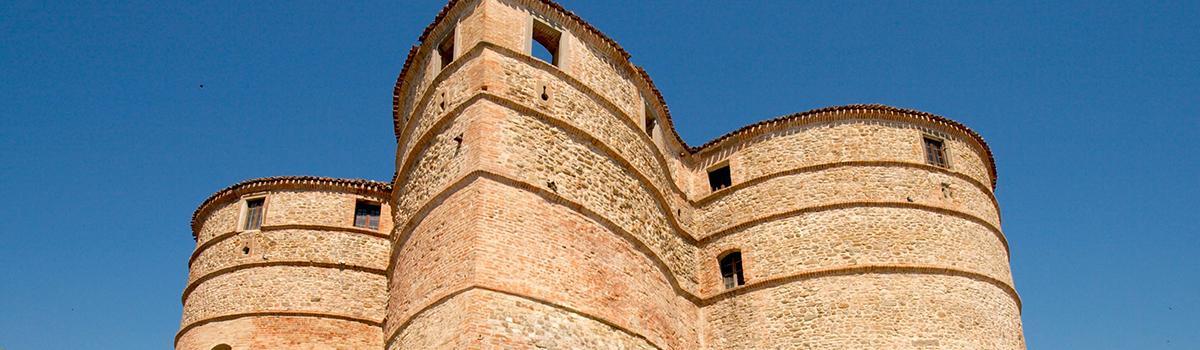 Immagine del castello di Sassocorvaro