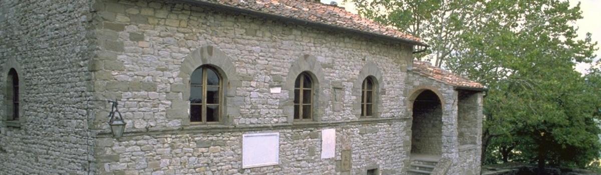 Immagine della casa natale di Michelangelo a Caprese