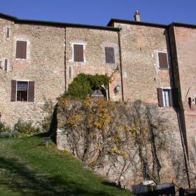 Immagine del castello di Roncofreddo (foto Strada dei Vini e Sapori)